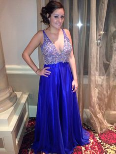Prom dress from Jans - fashion show