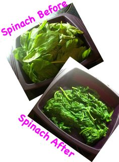 You can have even healthier spinach by using an Epicure steamer. No oil or water required! Epicure Recipes, Cooking Recipes, Epicure Steamer, Clean Eating, Healthy Eating, Steamer Recipes, Steamers, Nut Free, Seaweed Salad