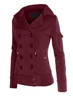 RubyK Womens Classic Double Breasted Pea Coat Jacket with Hood RubyK http://www.amazon.com/dp/B00ODMBA8W/ref=cm_sw_r_pi_dp_K5pzub1N7WW8F
