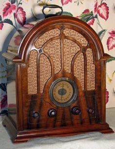 Vintage 1933 General Electric GE Model K 64 Cathedral and SW Tube Radio | eBay