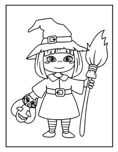 Halloween Coloring Pictures, Halloween Coloring Pages Printable, Halloween Coloring Sheets, Witch Coloring Pages, Coloring Pictures For Kids, Pumpkin Coloring Pages, Coloring Pages For Boys, Free Coloring Pages, Coloring Books