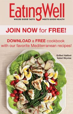 Download a FREE Cookbook with Healthy Mediterranean Diet Recipes!