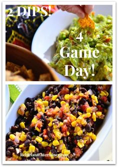 2 Easy Game Day Dip Recipes | ReluctantEntertainer.com