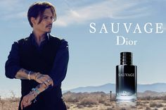 Johnny Depp stars in the Dior Sauvage fragrance campaign.