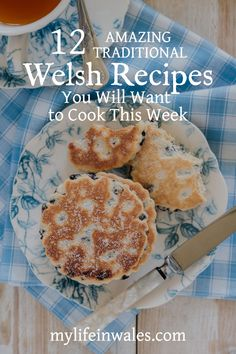 Want to cook some delicious Cawl, Welsh Rarebit, Bara Brith or Welsh Cakes? Come and discover some of the best traditional Welsh recipes. Welsh Cakes Recipe, Welsh Recipes, Uk Recipes, Scottish Recipes, Cooking Recipes, British Recipes, British Desserts, English Recipes, English Food