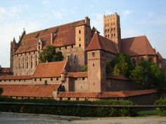 Malbork Castle, Malbork, Poland #travel #poland #castles