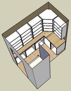 p/kuche-begehbar-in-pantry-designs-kleine-begehbare-speisekammer-ideen-kitchen-walk-in-pantry-desi - The world's most private search engine Organizing Walk In Closet, Walk In Closet Small, Small Closets, Walk In Pantry, Pantry Shelving, Pantry Storage, Pantry Organization, Pantry Ideas, Closet Ideas
