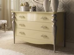Commode à 3 tiroirs.Mod.PA9605 Dresser As Nightstand, Girls Bedroom, Table, Furniture, Home Decor, Shared Bedroom Girls, Contact Form, Cleaning Tips, Drawer Pulls