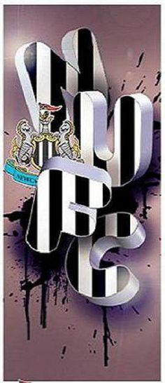black & white!! :) Newcastle United Football, 4 Life, Football Team, Joker, Army, Black White, Tattoo, Board, Sports