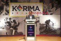 """El gobernador presenta el proyecto """"Kórima Comparte"""""""