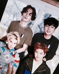 """""""남자 4인 ♥️ #Superjunior #Shinee #EXO #남자넷"""""""