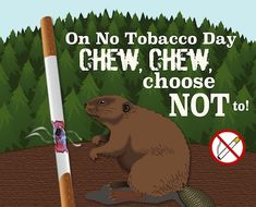 This World No Tobacco Day focuses on the impact tobacco has on the cardiovascular health of people worldwide. Spread the message to choose not to with this card! World No Tobacco Day, Cardiovascular Health, Thought Of The Day, Funny Cards, Special Day, Gifs, Events, Thoughts, Humor