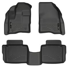 Husky Liners Front & 2nd Seat Floor Liners (Footwell Coverage) Fits 10-18 Taurus Ford Taurus Sho, Black Floor, 2019 Ford, Interior Accessories, Truck Accessories, Performance Parts, Floor Mats, Husky, Sporty