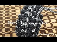 Dragon Spirits paracord bracelet without buckle. - YouTube