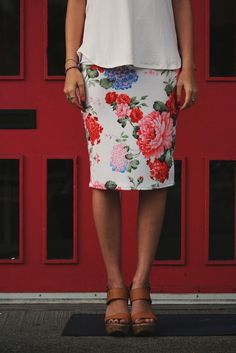 New - The Ashley Skirt from brookeandemclothing.com