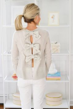Pure Joy Home, bow back top
