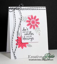 Kreative Kristie: Eva's Favorite Flowers & Coordinating Dies---YES, please!!!
