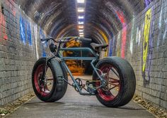 Car Wheel Bicycle