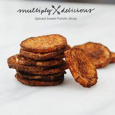 Spiced Sweet Potato Slices