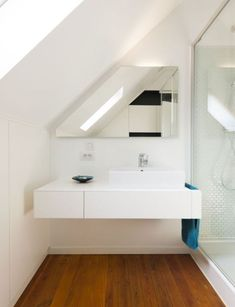 diy home decor for apartments is utterly important for your home. Whether you pick the bathroom demolition or remodeling bathroom ideas, you will create the best bathroom remodeling for your own life. Loft Bathroom, Upstairs Bathrooms, Bathroom Flooring, Modern Bathroom, Small Bathroom, Bathroom Ideas, Bathroom Cabinets, Bathroom Remodel Cost, Bathroom Remodeling