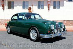 1964 Jaguar MK 2 Factory Sunroof