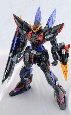 GUNDAM GUY: MG 1/100 Blitz Gundam - Customized Build