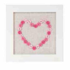 Button Heart Artwork