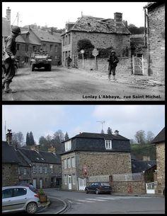 Lonlay L'abbaye Rue Saint Michel #Giugno1944