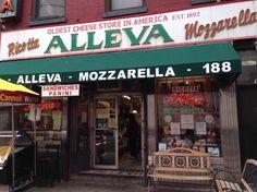 Alleva deli on Grand street in Little Italy.