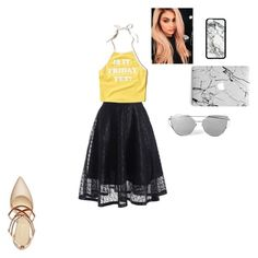 """""""Untitled #61"""" by kajkakovacova ❤ liked on Polyvore featuring Hollister Co. and Nine West"""