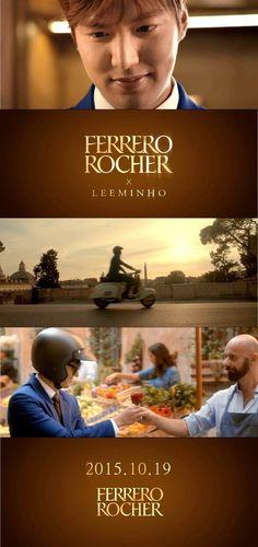 [ Korea News - Newswave ]  Lee Min Ho CF : Ferrero Rocher [ Video ]  Date : 12 October 2015 [뉴스웨이브] '이탈리안 감성'에 푹 빠진 이민호 티저 영상 공개!