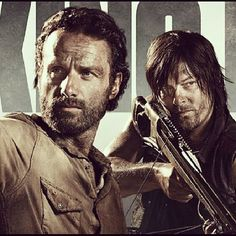 The Walking Dead; Rick and  Daryl :  Brothers