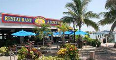 Conch Republic, Key West, FL. My favorite restaurant anywhere, pink shrimp with juju slather...oh my!