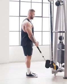 Chris Bumstead takes you through his favourite workouts on the Gymshark App! Mens Cardio Workout, Leg Workouts For Men, Arm Workout Men, Cable Workout, Gym Workout Videos, Workout Plan For Women, Abs Workout Routines, Gym Routine, Gym Workouts