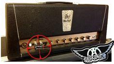 Voodoo Modded 3 Monkey's amp for Brad Whitford of Aerosmith