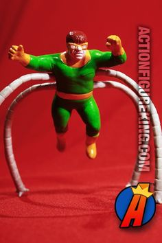 #MARVEL #SpiderMan villain #DOCOCK 1991 PVC #figure. See thousands of new and vintage #Collectibles #Toys #ActionFigures and more here… http://actionfigureking.com/list-3/miscellaneous/1991-marvel-comics-spider-man-doctor-octopus-pvc-figure