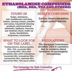 Do you have ethanolamine in your favorite beauty products?