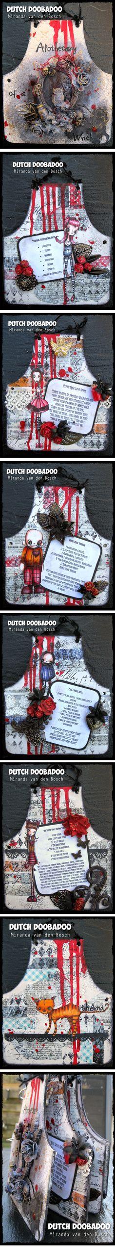 Artwork created by Miranda Van Den Bosch using rubber stamps designed by Daniel Torrente for Stampotique Originals