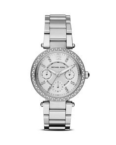 Michael Kors Mini Parker Watch, 33mm - All Watches - Watches - Jewelry & Accessories - Bloomingdale's