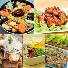 สูตรอาหารเกาหลี