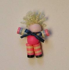 Button doll for the nursery Source: Julie Crow