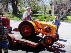 Yard Tractors, Tractor Mower, Antique Tractors, Antique Cars, Minneapolis Moline, Cool Toys, Farming, Lawn, Miniature
