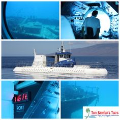 Explore the underwater world off the west side of Maui with Atlantis Submarines! http://www.tombarefoot.com/info/Maui_Submarine_Ride_with_Atlantis_Submarines.html