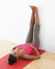 Detox Stretching: This exercise encourages drainage of blood and lymphatic fluid from the feet and legs into the abdomen, where these fluids can be more easily cleansed. It also nourishes the digestive organs and gives the circulatory system a rest, which.
