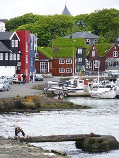 Thorshavn - the capital of Faroe Islands