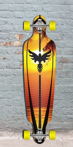 Longboards USA - Sunset Drop Through Longboard 40 inch from Punked, $108.00 (http://longboardsusa.com/sunset-drop-through-longboard-40-inch-from-punked/)