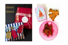 Geschenk 1. Advent * Simone von  Ofenlieblinge an Simone von S-Küche * Marzipan-Schokoladen-Pralinen und Hundekekse für Robbie
