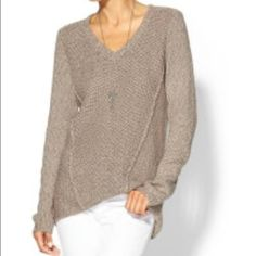 Calvin Klein Marled Knit Sweater 🔸Long sleeve marled knit sweater with scoop neck. 🔸Medium weight material with slight stretch. 🔸Comes from pet and smoke free home. Calvin Klein Sweaters Crew & Scoop Necks