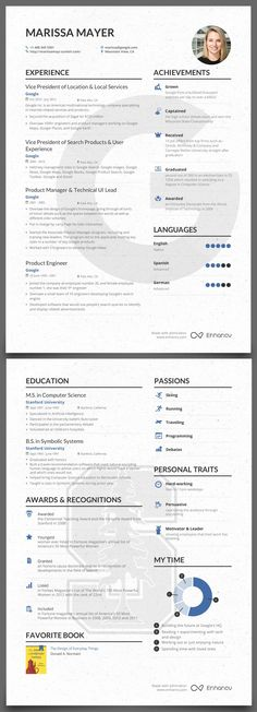 Dalston Free Resume Template Microsoft Word - Blue Layout KUNDAN - resumes by marissa