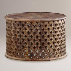 $239, Tribal Carved Coffee Table | World Market